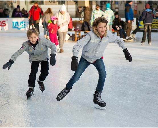 ice skating children