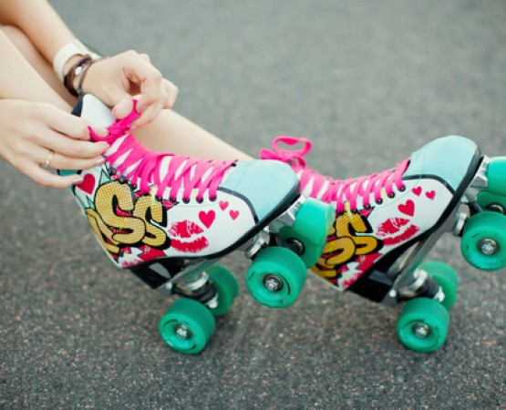 Colorful Rollerskates