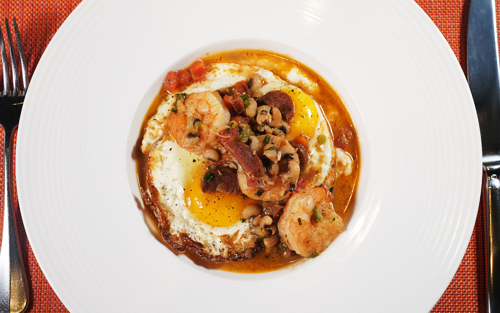 shrimp and eggs