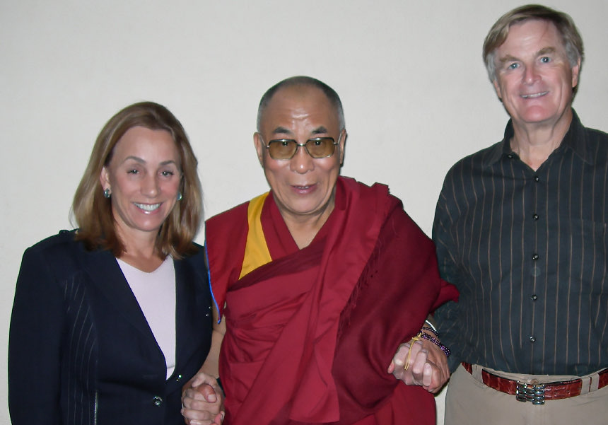 2008 - Welcomed His Holiness, the 14th Dalai Lama to the hotel