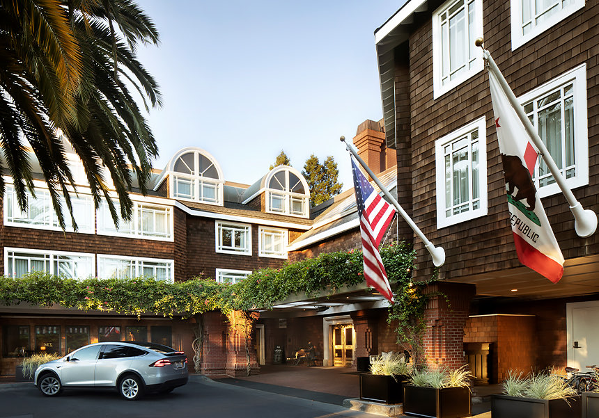 2019 - Voted #7 of the Top 25 Hotels in Northern California, Condé Nast Traveler's Readers' Choice Awards
