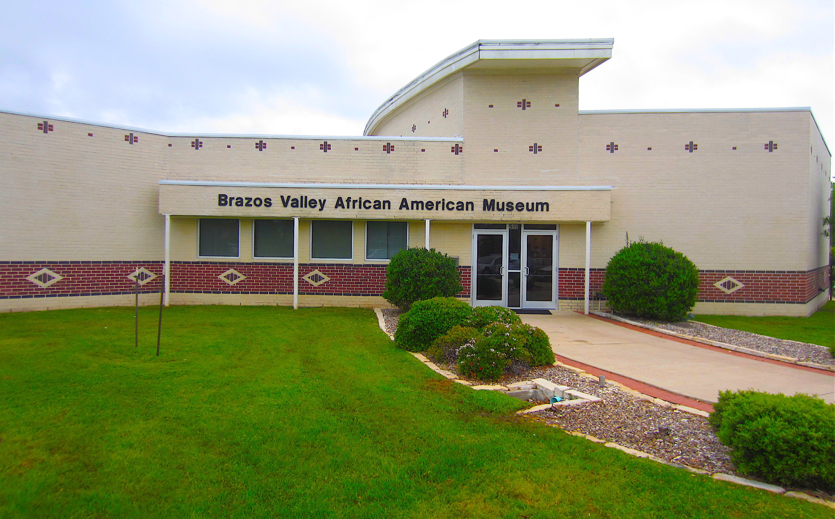brazos valley African American museum exterior