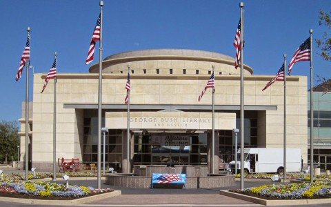 george w bush library exterior