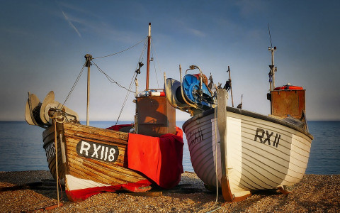 French Fishing Boats