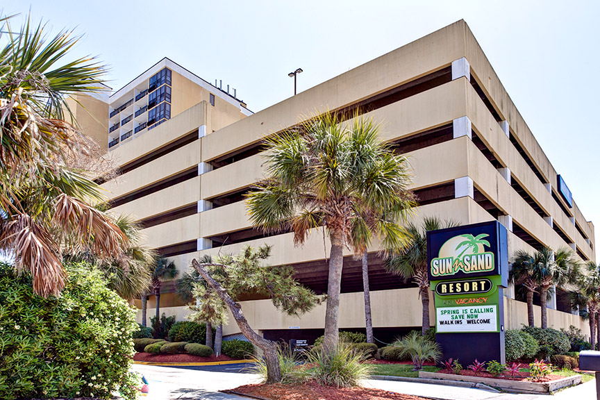 Sun N Sand Resort Myrtle Beach Sc Official Hotel Website Book