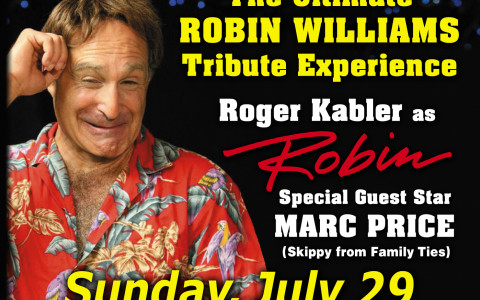 Robin Williams tribute flyer