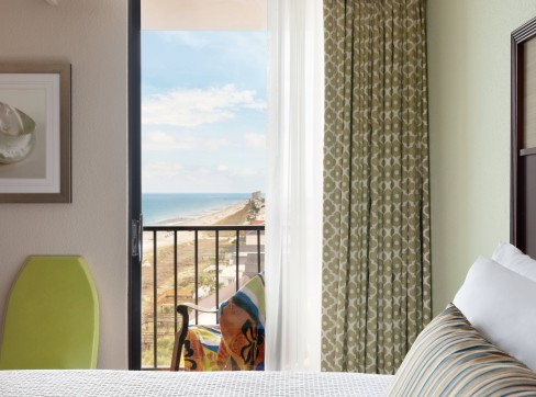 King Balcony Room with Premium Ocean View