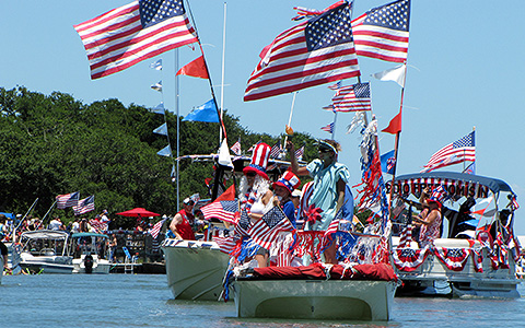 4th of july boat parade