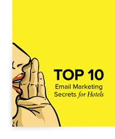 Top 10 Email Marketing Secrets for Hotels ebook cover