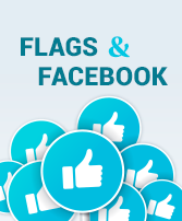Flags and Facebook ebook cover