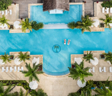 Couples Resort Aerial of Negril