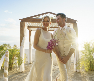 Couples Resort Wedding at Swept Away
