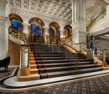 Grand Lobby with Doorman