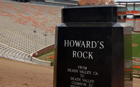 Howards Rock at Clemson University