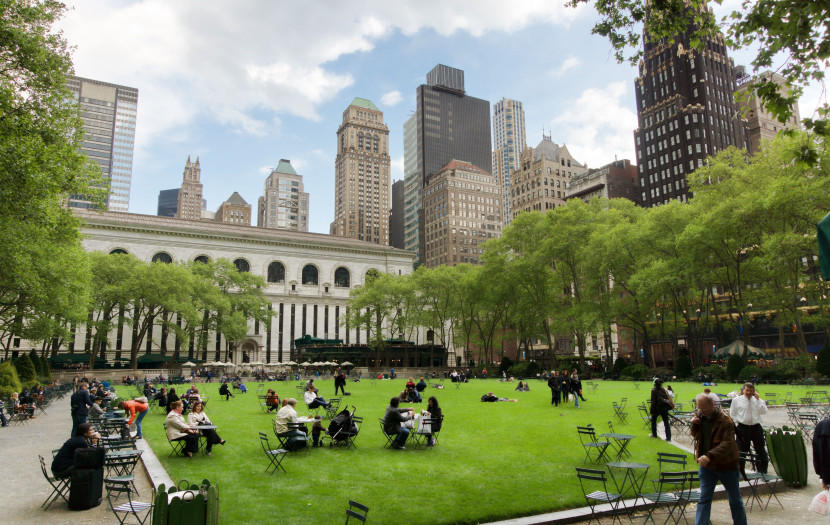 Free Summer Movies in Bryant Park