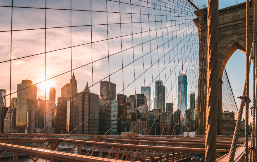 Take a Walk Over Iconic Brooklyn Bridge
