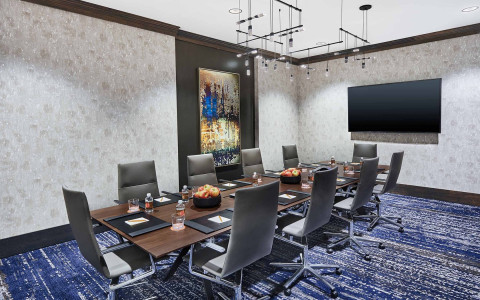 board room meeting space
