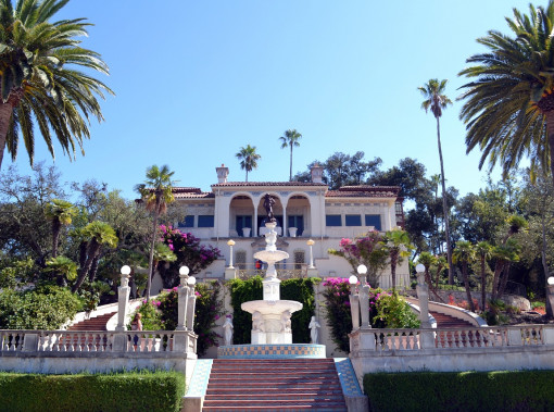 Front Entrance of Hearst Castle