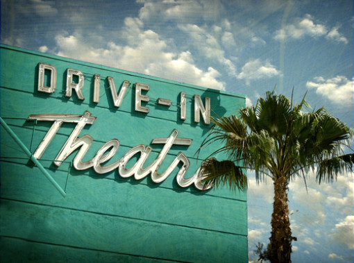 drive in movie theater