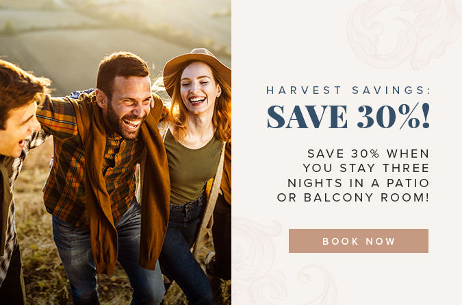 carlton hotel popup october 2019 harvest savings save 30%
