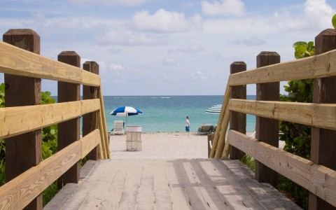 Take a Stroll Down the Miami Beach Boardwalk