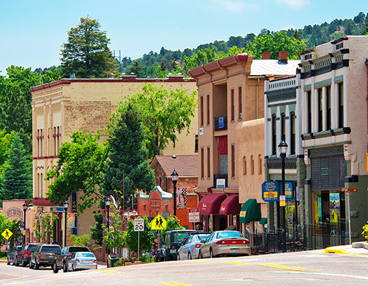 Downtown Manitou Springs