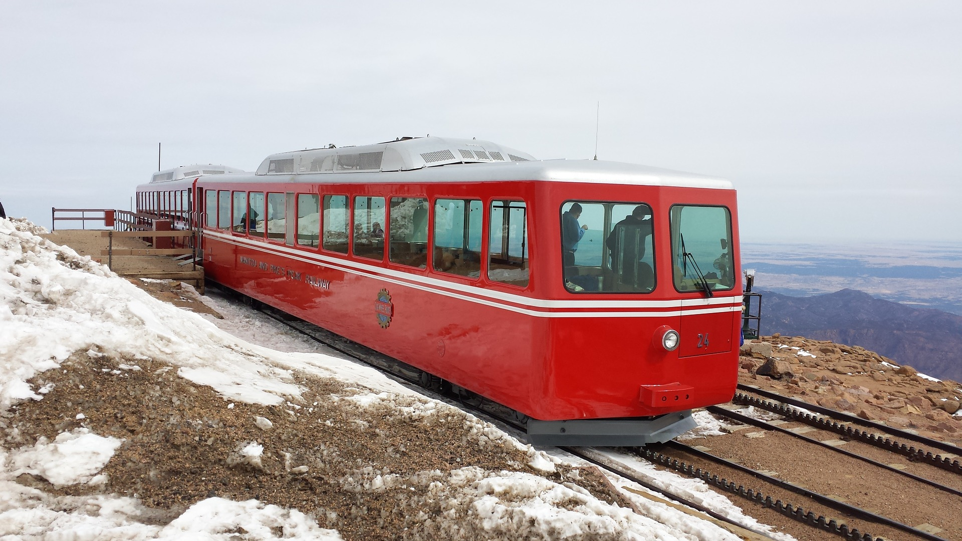 Climb America's Mountain on the Pikes Peak Cog Railway