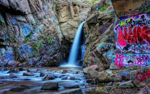 Rainbow Falls Manitou Springs Colorado
