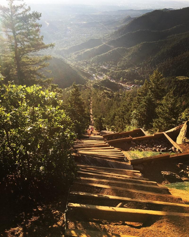 Get In Shape On the Challenging Manitou Incline