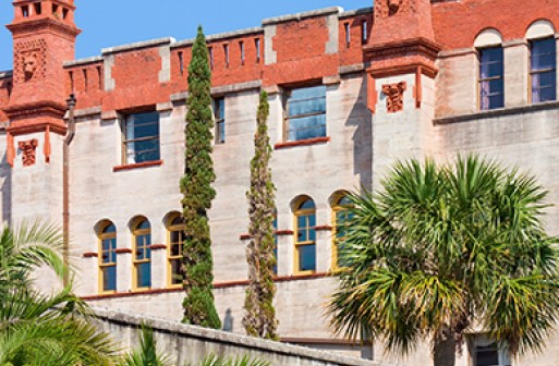Exterior of the historic Lightner Museum