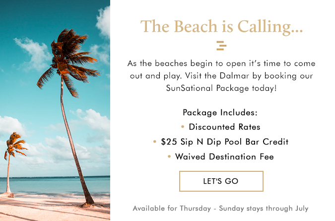 dalmar the beach is calling pop up 1