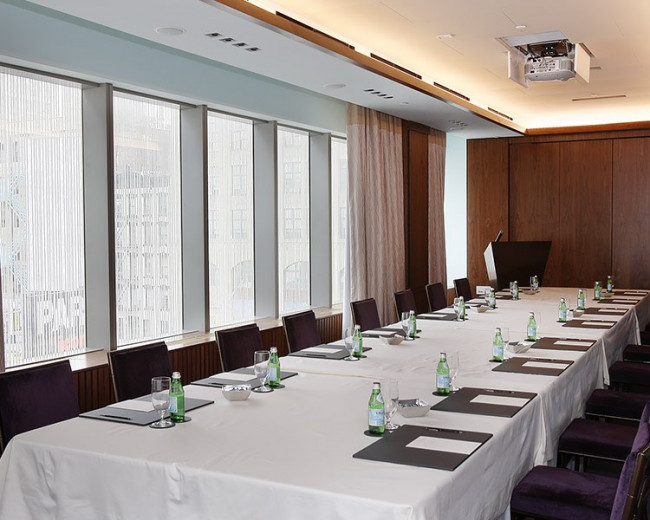 Dominick Hotel Tribeca Meeting Room