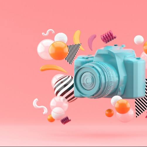 colorful camera