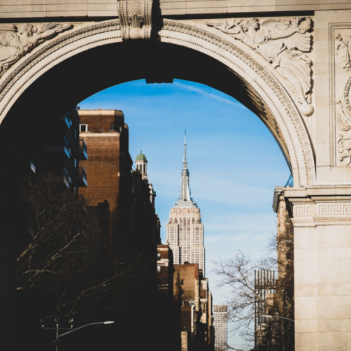 washington square park arch