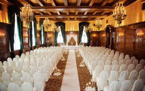 wedding ceremony venue space