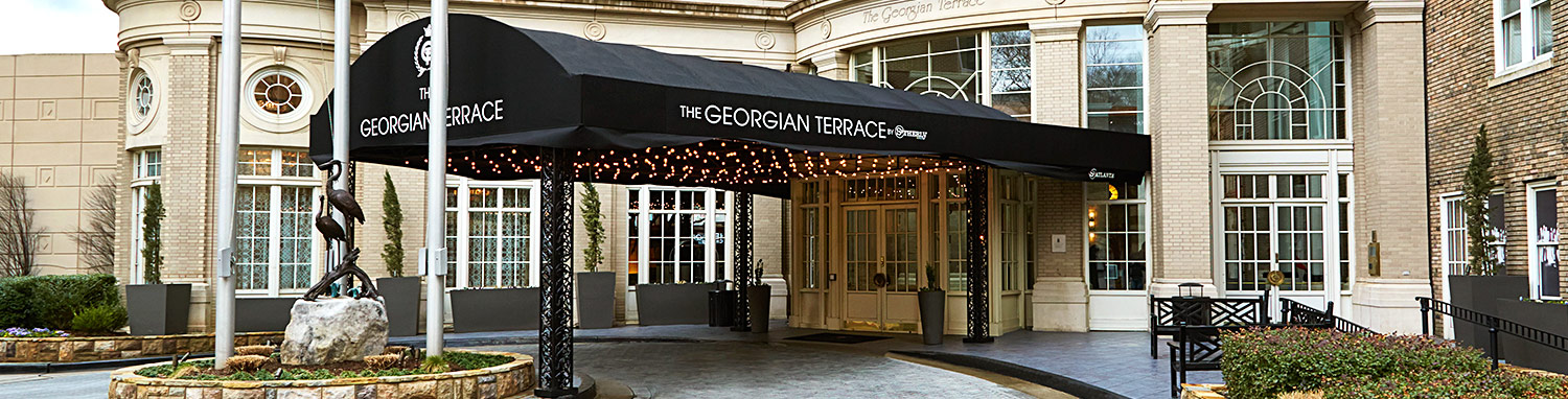 Georgian Terrace Exterior entrance