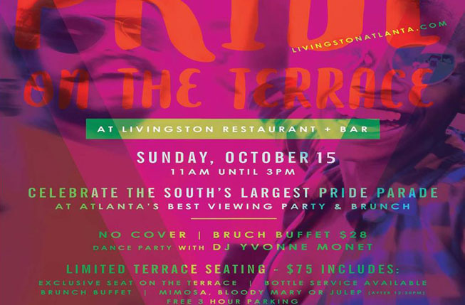 Pride On The Terrace flyer