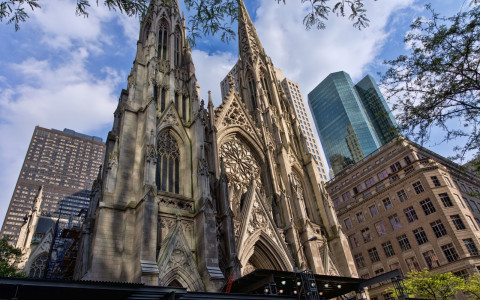st. patricks cathedral nyc exterior