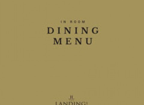 In Room Dining Menu