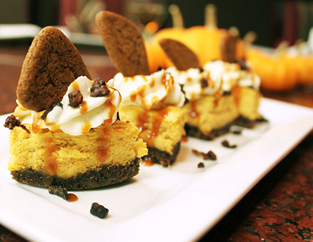 Pumpkin Cheesecake Recipe Image