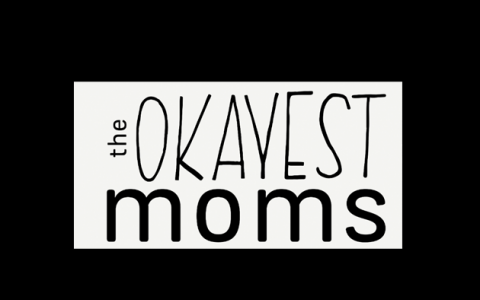The Okayest Moms logo