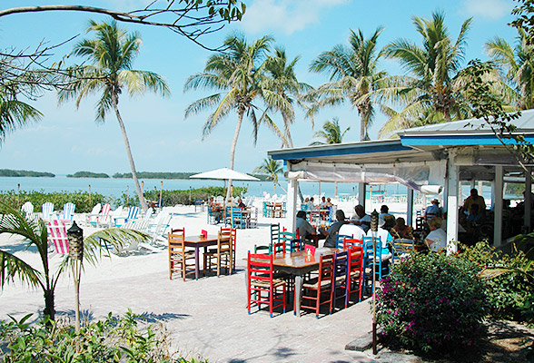 Morada Bay Beach Cafe with outdoor seating