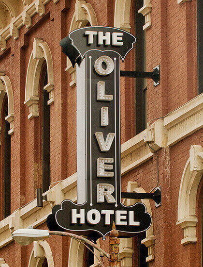 Welcome to The Oliver Hotel