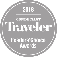 Conde Nash Readers choice logo