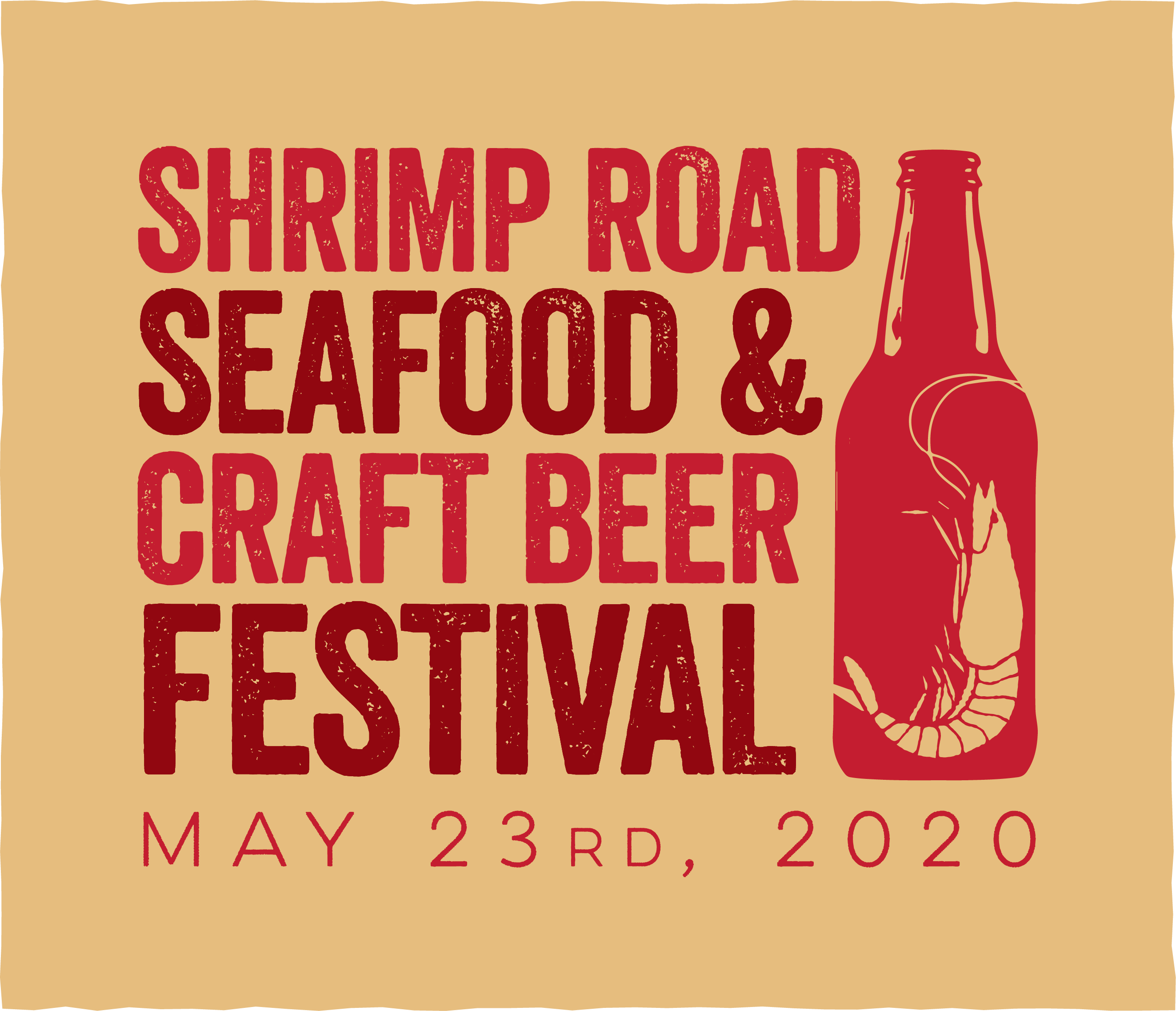shrimp road seafood festival flyer