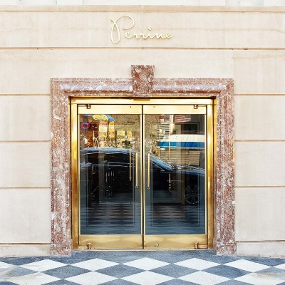 Main entrance to Perrine restaurant
