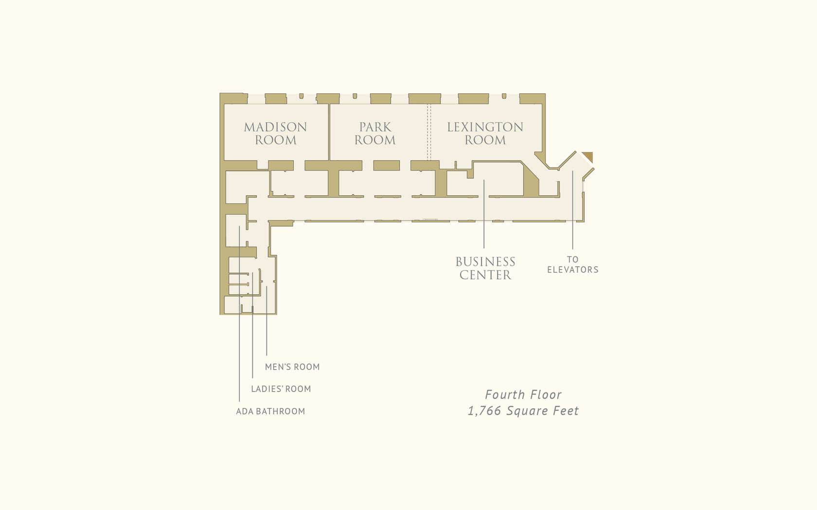 The Pierre, a Taj Hotel, New York Fourth Floor Floorplan