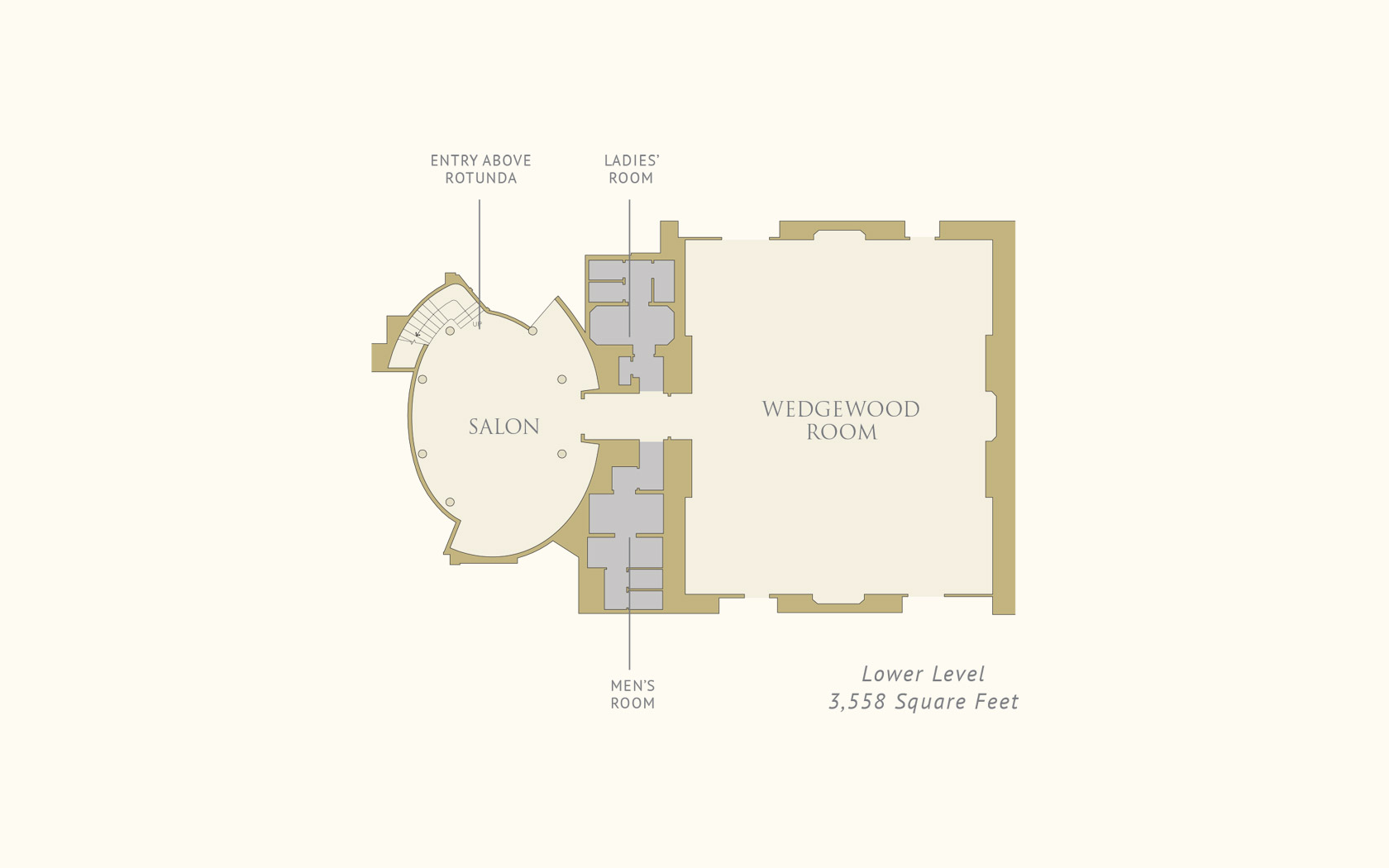 The Pierre, a Taj Hotel, New York Lower Level Floorplan