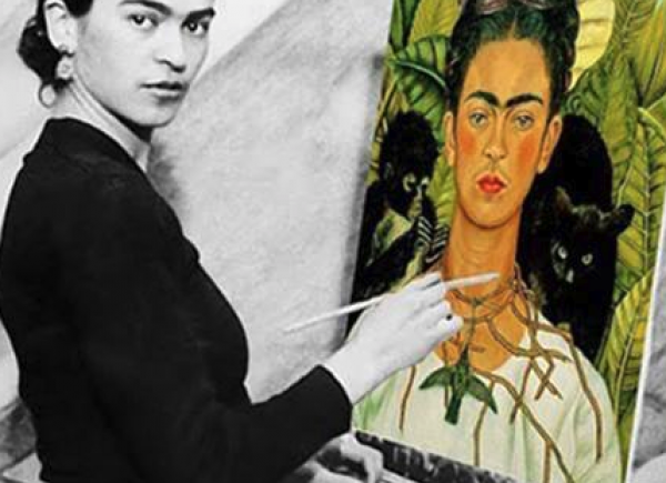 Frida Khalo self portrait