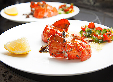 Romantic Lobster Restaurant dish